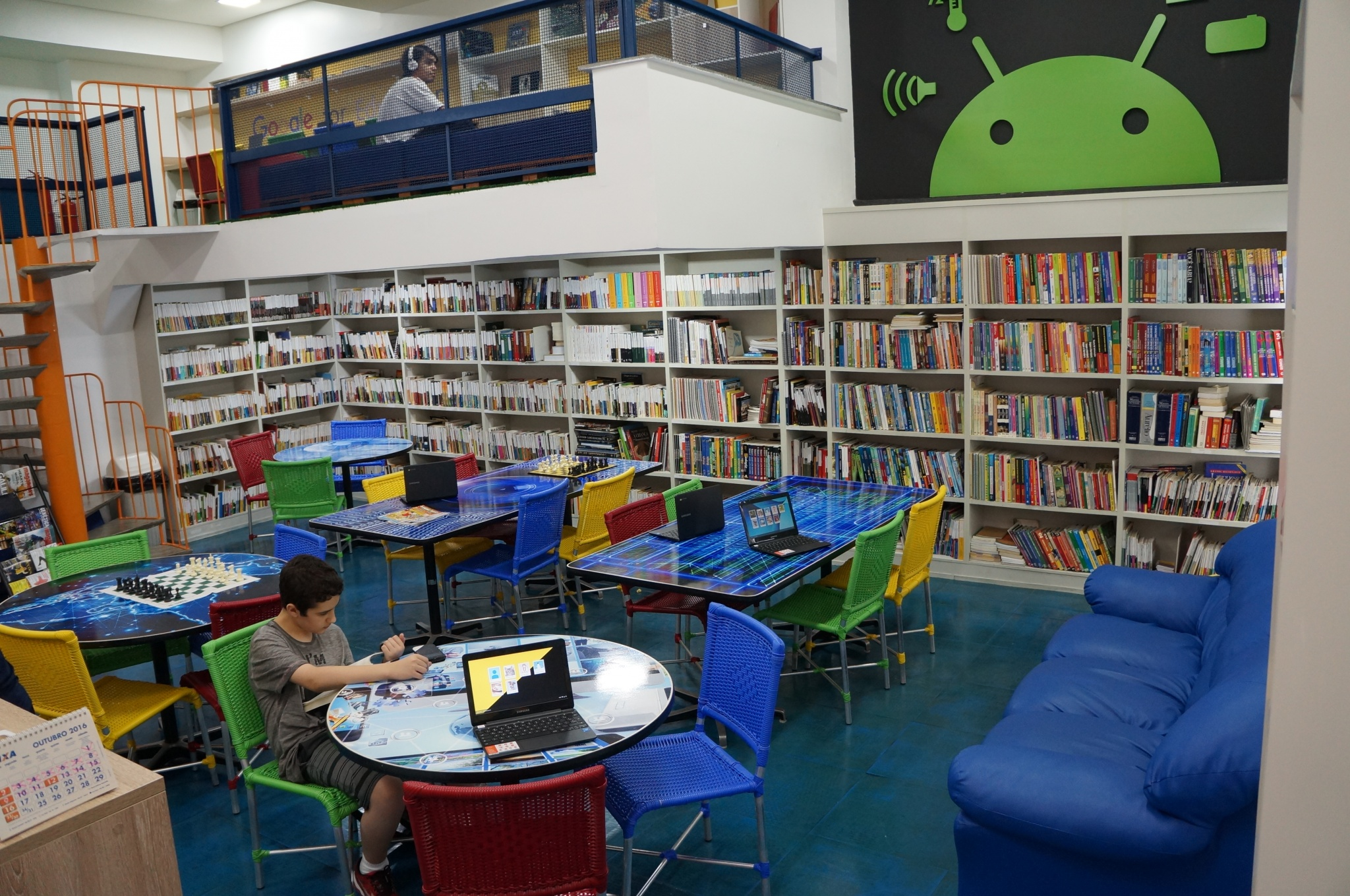 Sala Google- Unidade 3 - Colégio Renovação