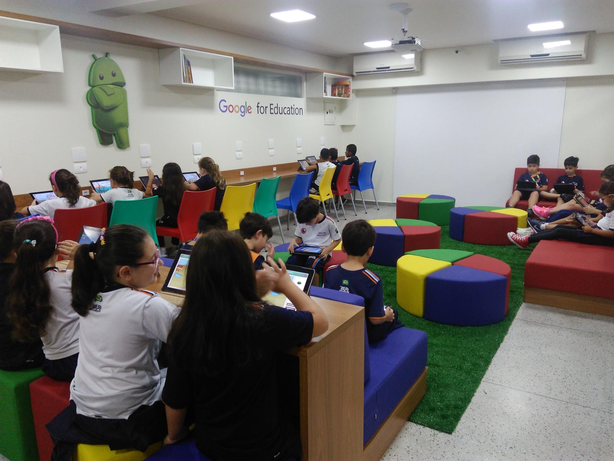 Sala Google Colégio Renovação Unidade II